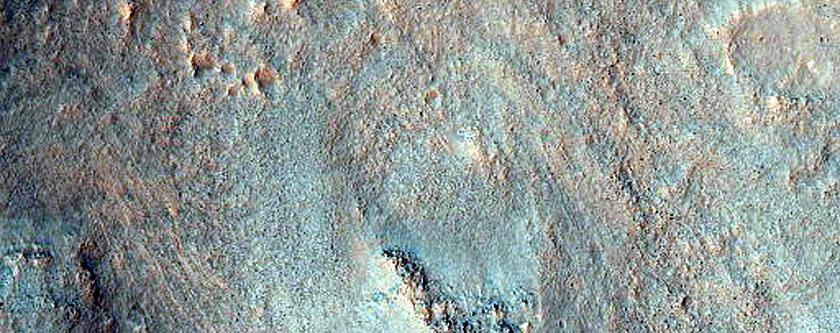 Slopes in Ius Chasma