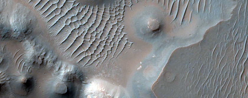 Mounds and Ridges in Aurorae Chaos
