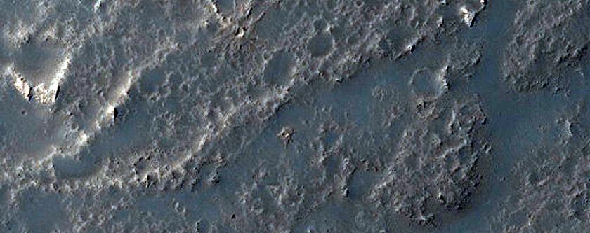Channel-Fed Lava Flows in Daedalia Planum