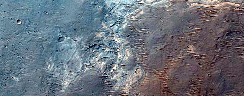 Southern Rim of Ius Chasma