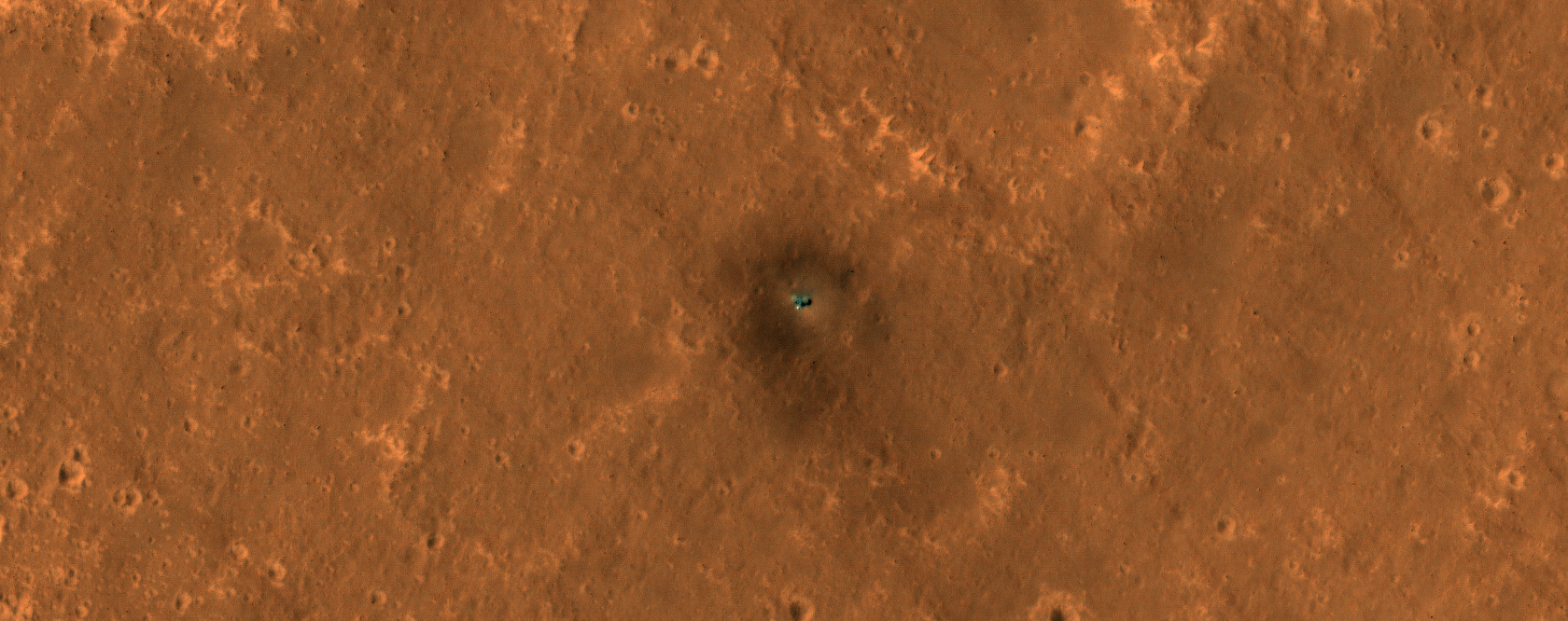The Best HiRISE Image of the InSight Lander