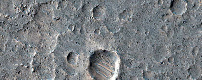 Variety of Butte and Mesa-Forming Materials in Xanthe Terra