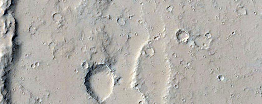 Pit in Ceraunius Fossae
