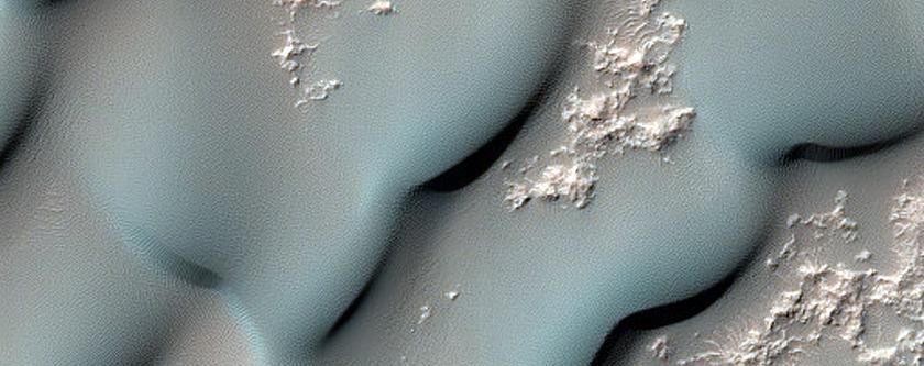 Tyrrhena Terra Crater Dunes