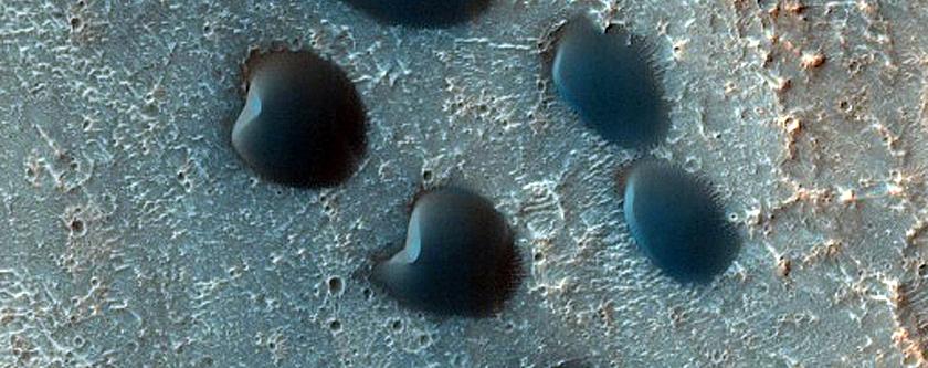 Cerberus Region Seasonal Dune Monitoring