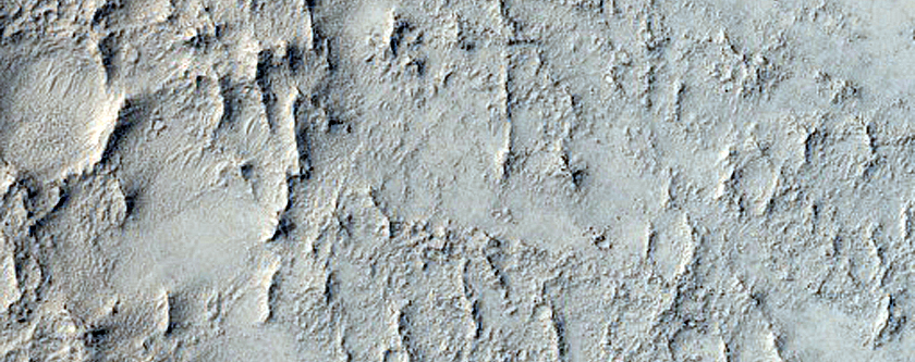 Arabia Terra Crater Floor Knobs