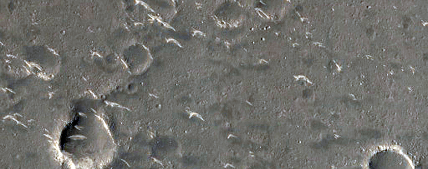 Terrain Sample in Utopia Planitia