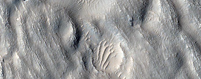 Lava Flow in Galaxias Fluctus
