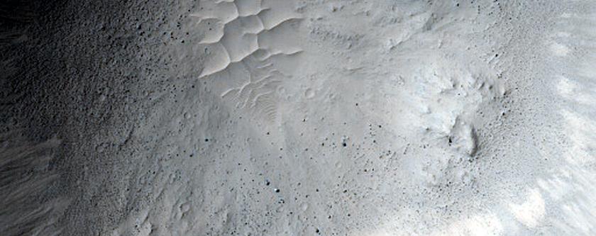 Fresh 2-Kilometer Diameter Crater