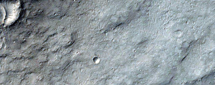 Peace Vallis in Gale Crater