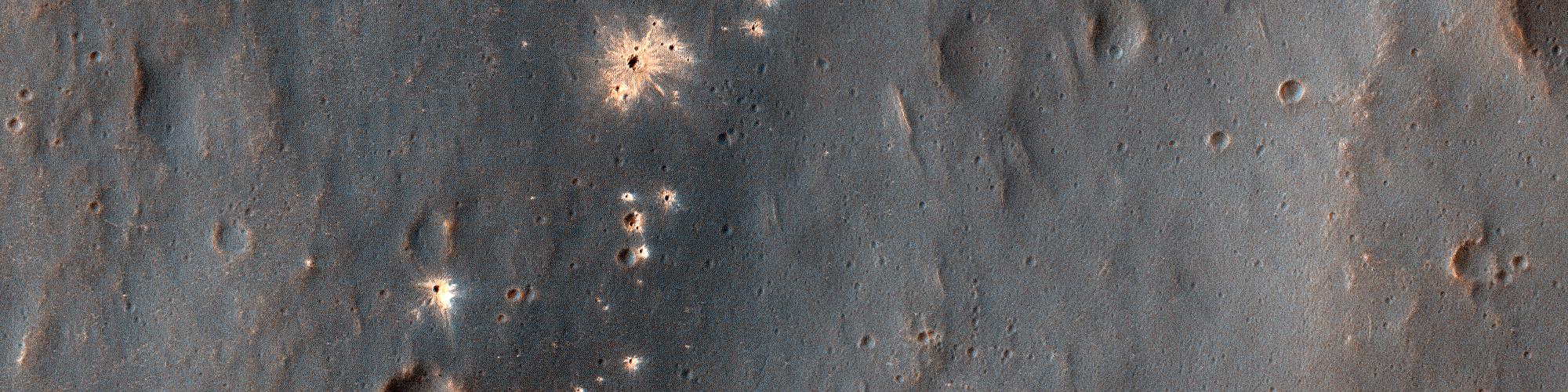 A Recent Impact Site in Noachis Terra