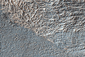 Tongue Shaped Flow Near Reull Vallis