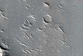 Streamlined Structures in Granicus Valles