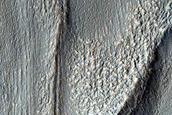 Tongue-Shaped Glacier in Centauri Montes