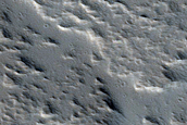 Surface of East Flank of Olympus Mons