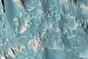 Tyrrhena Terra Central Peak Dunes