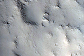 Arabia Terra Crater Rim or Escarpment