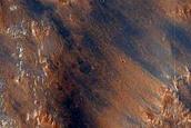 Cliff North of Hellas Planitia