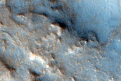 Test for Small Ancient Craters Near Nili Fossae