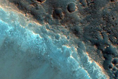 Crater with Irregular Rim