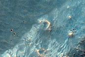 Noachis Terra Crater Rim