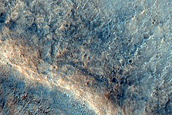 Monitor Crater Slope in Solis Planum