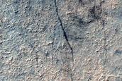 Craters in Noachis Terra