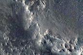 Western Arabia Terra Intercrater Layered Material