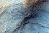 Crater Northwest of Muller Crater