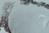 South Polar Residual Cap Upper Surface Change Detection