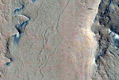 Layered Features in Crater in Arabia Terra