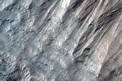 South Polar Layered Deposit Slopes