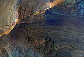 Οι Λόφοι στο Χάσμα της Νεότητας (Juventae Chasma)