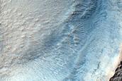 Possible Olivine-Rich Pedestal Crater in Terra Sirenum