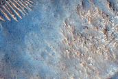 Possible Delta in Hesperia Planum