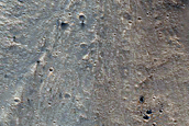 Rim of Timbuktu Crater