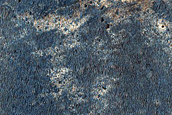 Western Iazu Crater Ejecta