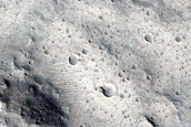 Well-Preserved 10-Kilometer Crater