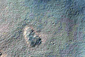 Monitor Gullies in Asimov Crater