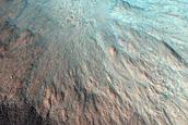 Well-Preserved Impact Crater in Acidalia Planitia
