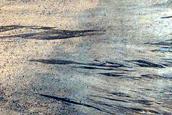 Impact Crater in Elysium Planitia