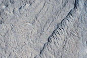 Layered Buttes in Arabia Terra