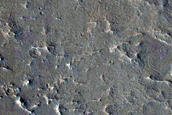 Circular Feature with Radial and Circumferential Ridges