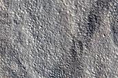 Periglacial Terrain in Eastern Erebus Montes