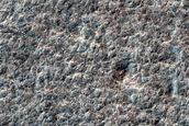 Possible Crater in Promethei Lingula