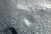 Layers Along Mound in Coloe Fossae