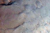 Ridge in Southern Melas Chasma