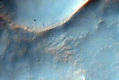 Small Crater Northeast of Hellas Planitia