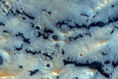 Pasteur Crater Mound