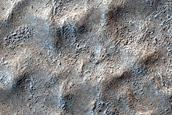 Surface Near Dorsa Argentea